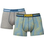 Puma Mens Toothpick Boxers - Pack of 2